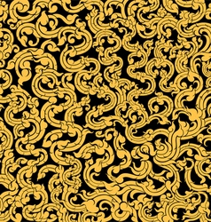 Vine pattern vector