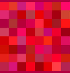 red square mosaic background - vector image