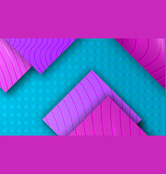 background with purple violet mosaic vector image
