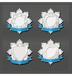 emblems series honour vector image vector image