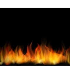 Fire Seamless background vector