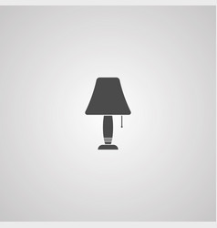 night lamp icon sign symbol vector image