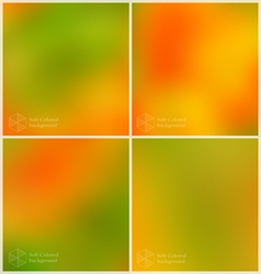 Smooth mesh set of four vector image