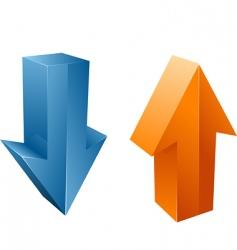 vector arrows vector image
