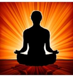 Yoga illustrations vector