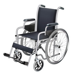 wheelchair medicine and health isolated object vector image