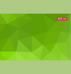 Abstract background from polygons vector