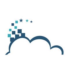 Cloud pixel vector