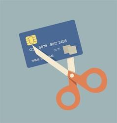 cut card vector image
