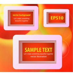 Display text box vector