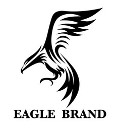 eagle brand 2 vector image