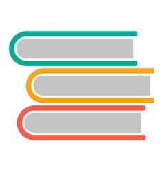 education book symbol vector image