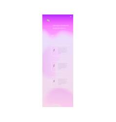 landing page trendy vibrant gradient vector image