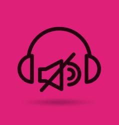 Music entertainment line icon vector