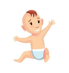 Stage development - newborn baby generations vector