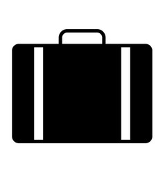 travel bag icon simple minimal 96x96 pictogram vector image