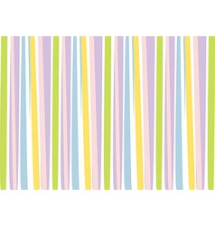 Background with colorful stripes vector image vector image