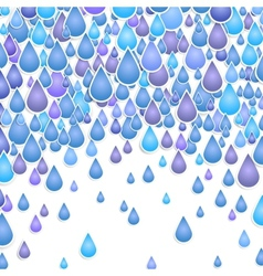 background with drops of a rain vector image vector image