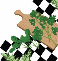 vegetable square vector image