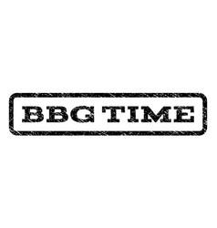 bbg time watermark stamp vector image vector image