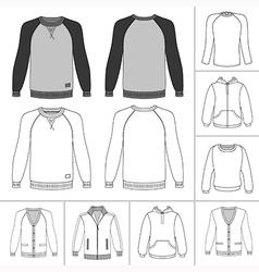 street fashion clothing 19 vector image