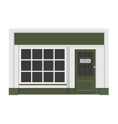 building shop store sign vector image