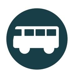 bus truck public car icon vector image