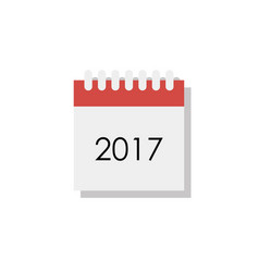 calendar flat style vector image