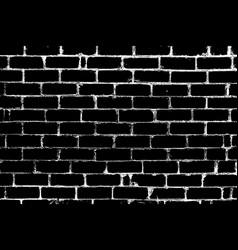 distress brickwall overlay vector image