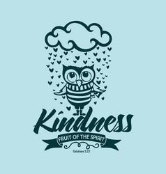 Fruit spirit kindness vector