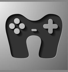 Game joystick vector