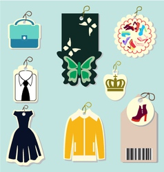 lable-price tags vector image