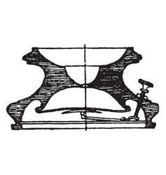 modern inkstand vases vintage engraving vector image