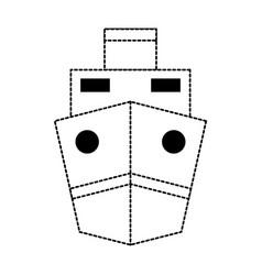 Monochromatic ship vector