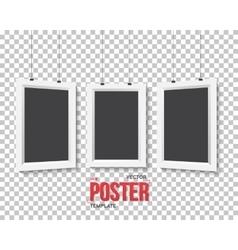 Poster Frame Mockup Set Realistic EPS10 vector