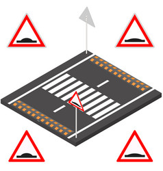 Speed bump in 3d vector
