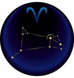 Zodiac arise sign vector