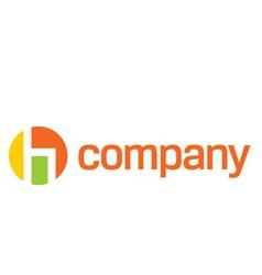 modern chair logo vector image vector image