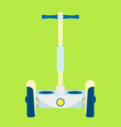 modern segway urban vehicle hipster electric vector image vector image