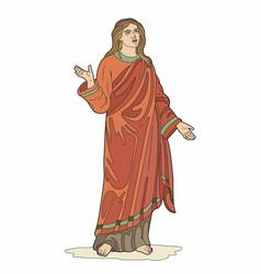 Biblical character vector