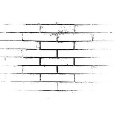 distress brickwall overlay vector image