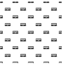 fast train pattern seamless vector image