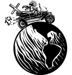 global automobile christ vector image