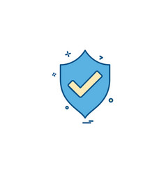 protected icon design vector image