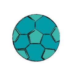 Soccer ball isolated vector