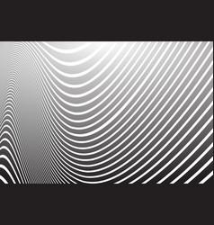 Wavy lines design vector