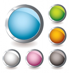 web icon variation round vector image vector image