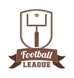 Football championship design vector