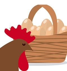 eggs fresh vector image
