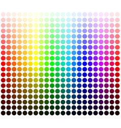 Color palette harmony colors shades and lights vector